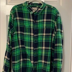Men's AEO Flannel Button Up